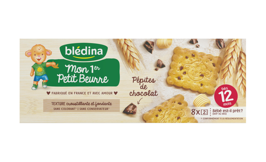 贝乐蒂 第一优选 巧克力黄油味宝宝磨牙饼干