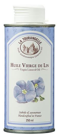 法国 La Tourangelle 拉杜蓝乔 初榨亚麻籽油 250ml