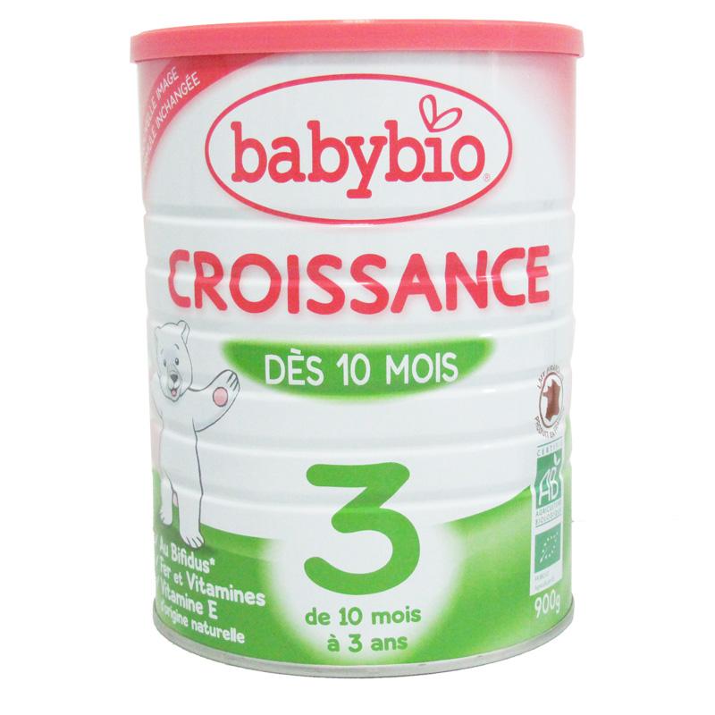 伴宝乐BABYBIO 成长奶粉 标准型3段900克