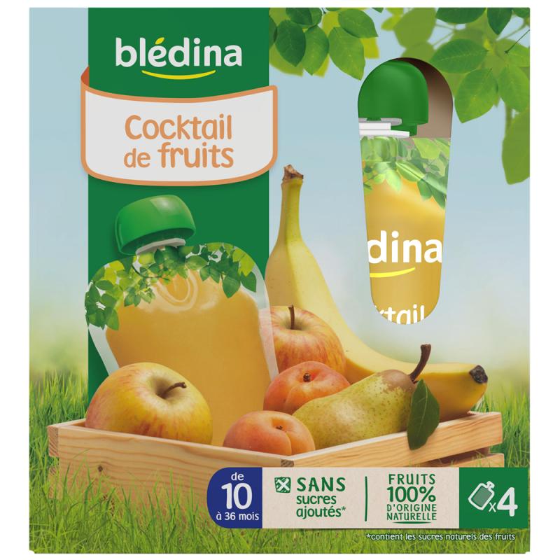 贝乐蒂 混合水果味宝宝水果泥