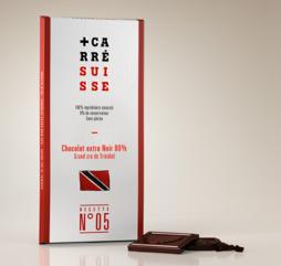 CARRE SUISSE 5号 80%黑巧-古巴 100G