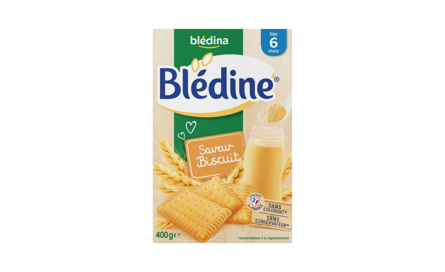 贝乐蒂 绿色天然饼干味宝宝麦片米粉