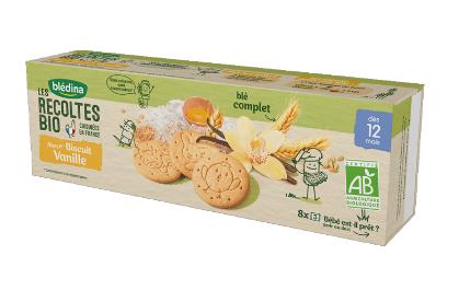 贝乐蒂 第一优选 绿色天然香草味宝宝饼干