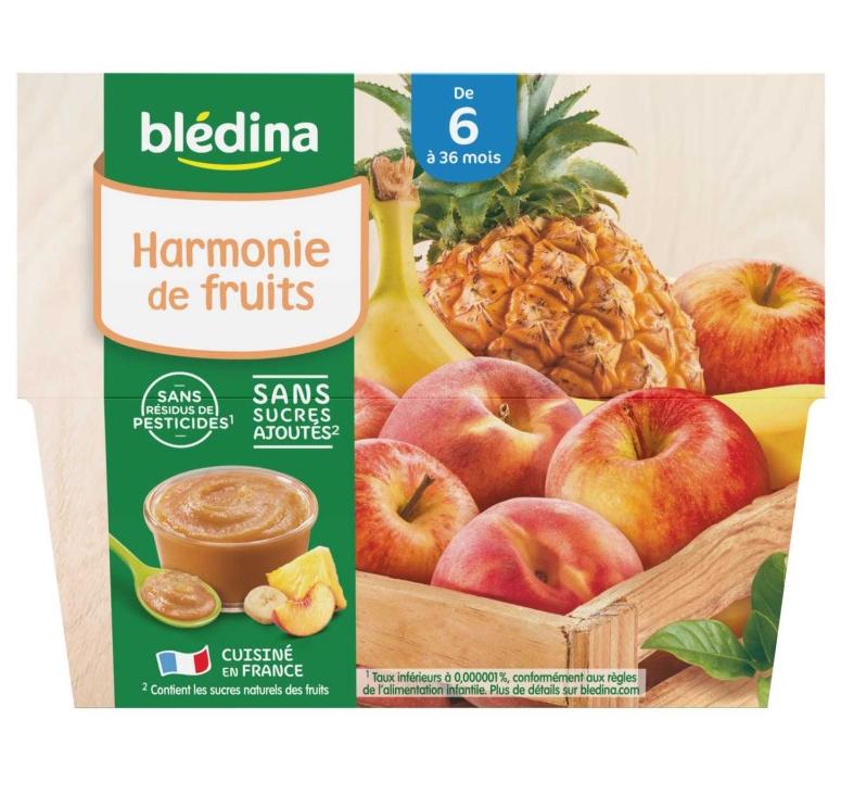 贝乐蒂 100% 混合水果味宝宝水果果泥