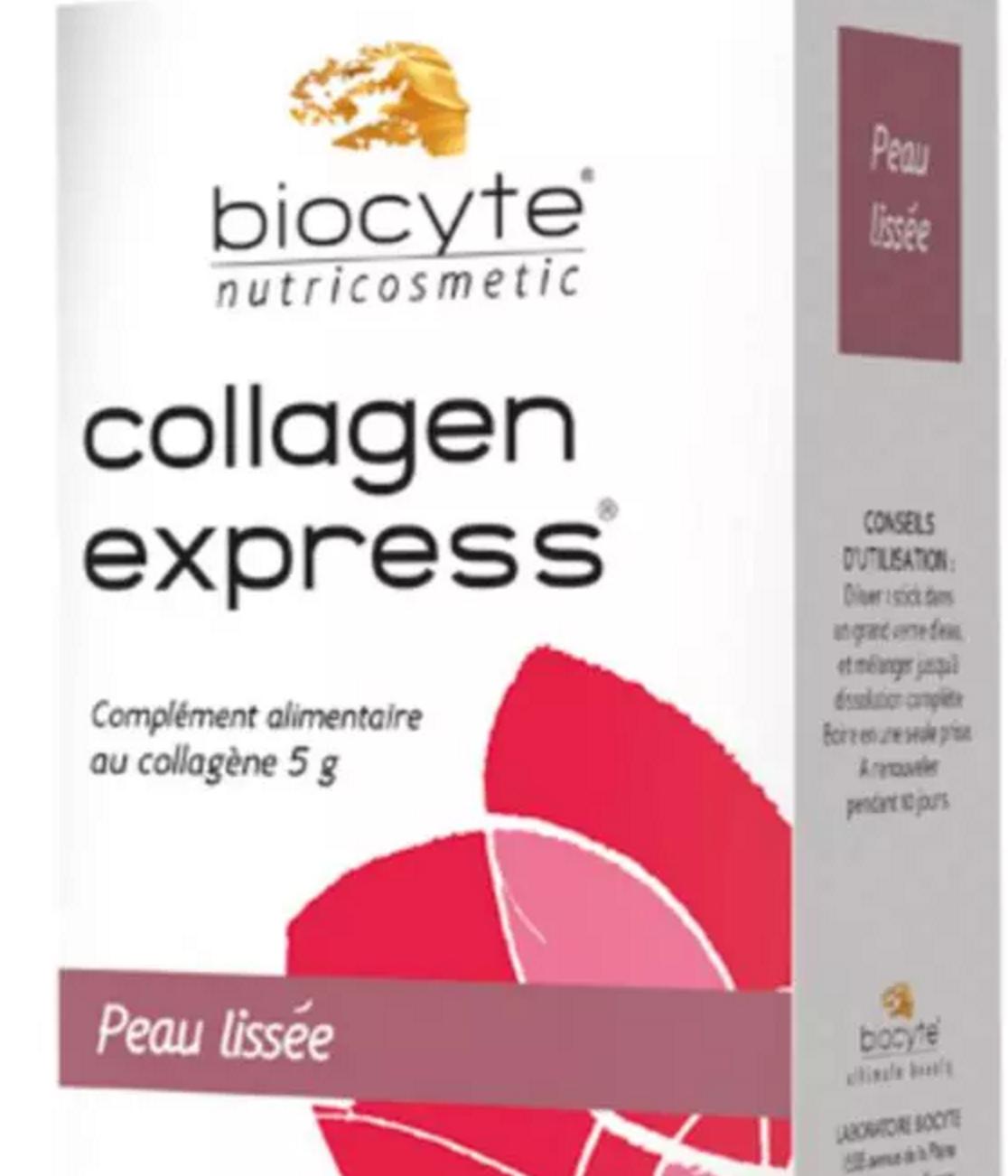法国 BIOCYTE 碧皙口服胶原蛋白粉 水蜜桃口味