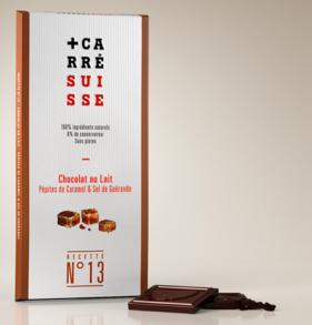 CARRE SUISSE 13号 海鹽蔗糖味牛奶巧克力 100G