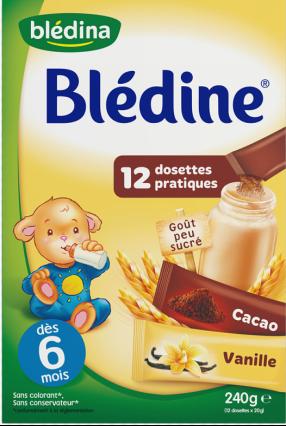 贝乐蒂 绿色天然可可香草味宝宝麦片米粉
